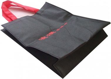 China Promotional Custom Non Woven Tote Bags With Reinforced Handles Recyclable supplier