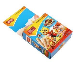 China Cookie / Junk Food Packaging Box For Small Business Custom LOGO Printed supplier