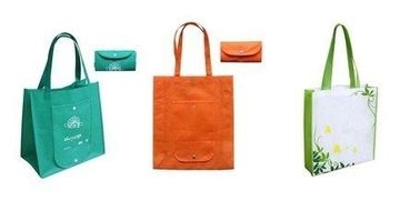 Fashion Mixed Color Non Woven Fabric Bags , Non Woven Goodie Bag
