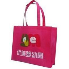 China Multi Colored Printed Non Woven Tote Bags , Shopping Grocery Bags Anti Static supplier