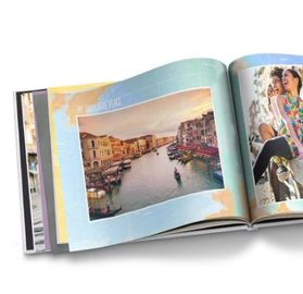 China Personalized Hardcover Print Picture Album Book Customized Size / Color supplier