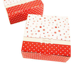 China Christmas Cardboard Boxes With Lids , Recycled Paper Folding Gift Box supplier