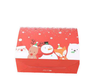 China Custom Christmas Paper Gift Boxes For Chocolate / Cosmetic / Food Packing supplier