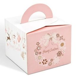China Customized Christmas Paper Gift Boxes , Christmas Packing Boxes OEM / ODM supplier