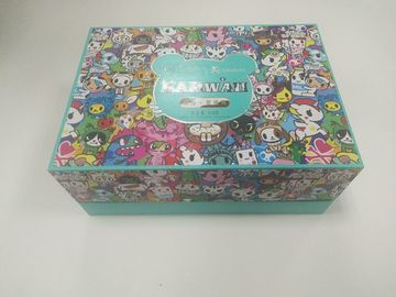 China Animal Cartoon Printed Paper Packaging Boxes For Children Toys / Snack supplier
