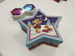 China Cute Lovely Custom Printed Packaging Boxes Pentagram Shaped For Kids Food supplier
