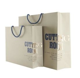 China Eco Friendily Personalized Paper Gift Bags For Shopping / Advertising Use supplier