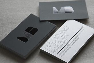 China Custom Design Black Paper Business Card Offset Printing Free Samples supplier