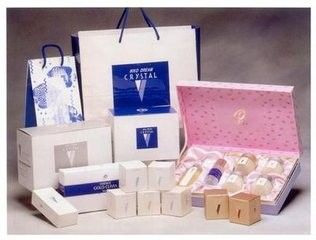 China Custom	Printed Cosmetic Paper Box , Luxury Beauty Product Packaging Box supplier
