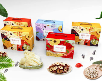 China Fashion Paper Food Packaging Box With Matt Lamination Surface Finishing supplier