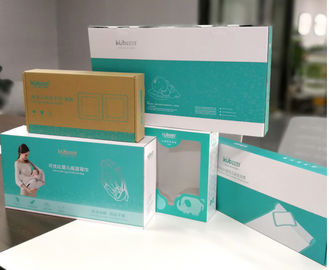 China Baby Products Paper Packaging Boxes With CMYK Offset / PMS Printing supplier