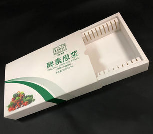 China Handmade Paper Packaging Boxes For Food Drinking Package OEM Service supplier