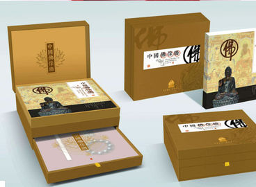 China Gift Paper Packaging Boxes With Foldable Lids CMYK Printing Picture supplier