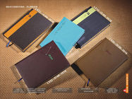 China Multi Colored Custom Printed Notebooks With Leather Cover OEM Service factory