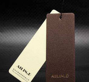 China Lightweight Custom Printed Hang Tags / Garment Packing Bags Eco Friendly factory