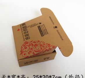 Rectangle Custom Made Packaging Boxes , Cardboard Packing Boxes