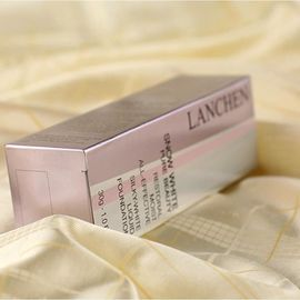 Paper Cosmetic Paper Box With Handle , Cosmetic Storage Box Pantone Colors